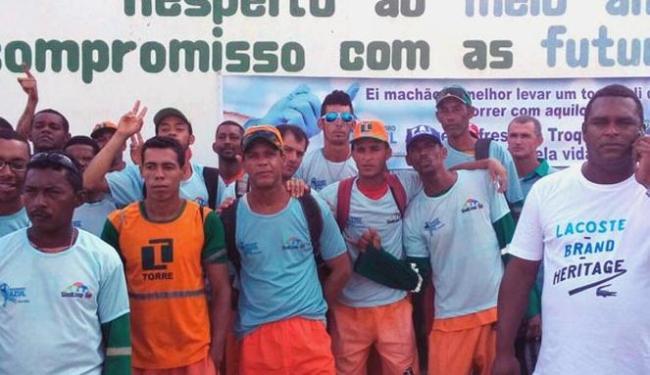 Garis em Jequié fazem protesto após prisão de colega - Foto: Reprodução