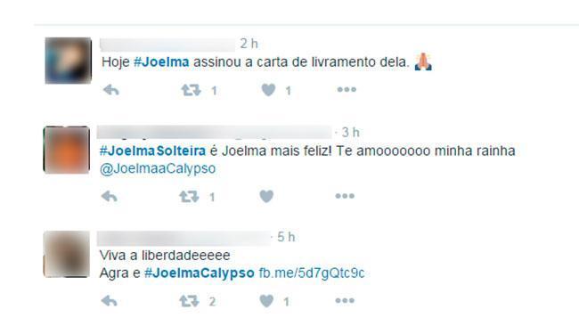 Os fãs ficaram em defesa de Joelma - Foto: Reprodução | Twitter