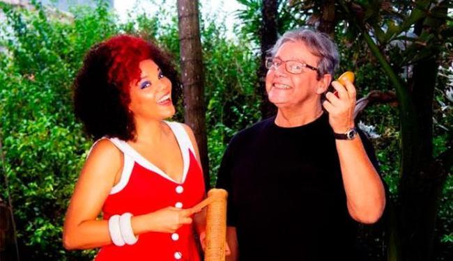 Juliana Ribeiro vai dividir o palco com Fernando Amorim - Foto: Divulgação
