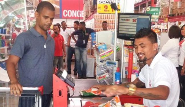 A ação é parte da campanha de publicitária - Foto: Divulgação l E.C. Bahia