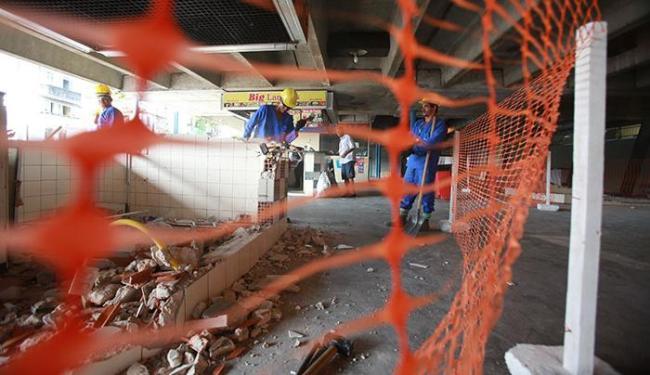 As linhas do subsolo serão transferidas para a Estação da Barroquinha - Foto: Joá Souza   Ag. A TARDE