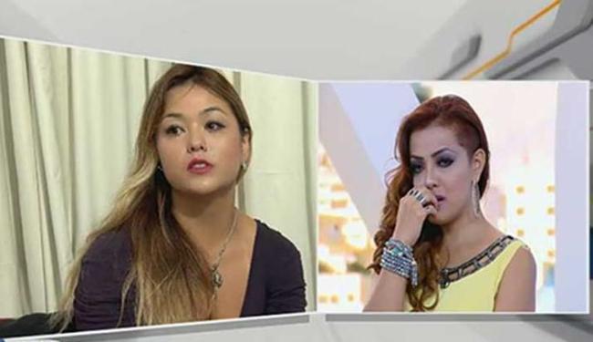 Ex-Rouge confirmou agressão divulgada pela irmã - Foto: Reprodução | TV Record