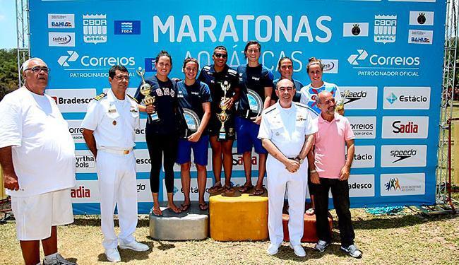 Betina foi a vencedora do ano com 170 pontos. Ana Marcela ficou em segundo com 148 pontos - Foto: Satiro Sodré/SSPress/CBDA