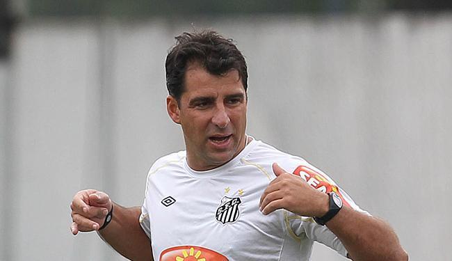 Marcelo Martelotte apareceu bem como técnico no Santos - Foto: Paulo Liebert l Estadão Conteúdo