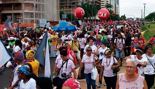 Marcha que acontece em Brasília - Foto: Divulgação | @botecofeminista