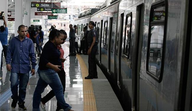 Integração do metrô com os ônibus é esperada para dezembro - Foto: Joá Souza l Ag. A TARDE l 12.11.2015