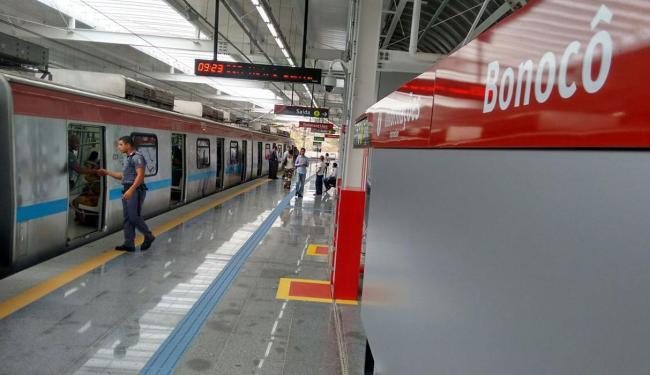Estação Bonocô deve atender cerca de 80 mil moradores da região - Foto: Joã Souza | Ag. A TARDE