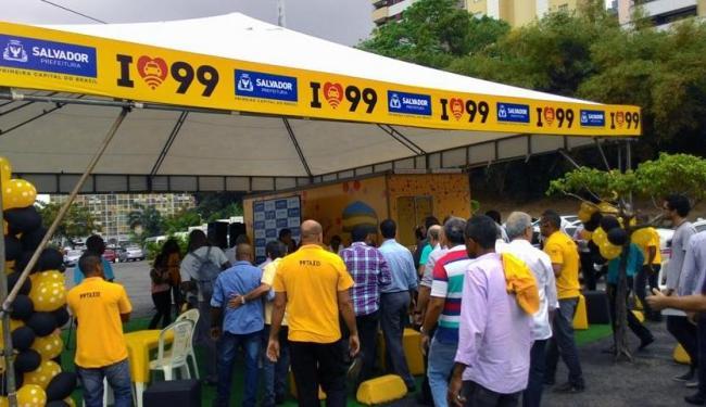 Módulo-conforto foi inaugurado na manhã desta sexta - Foto: Luan Santos | Ag. A TARDE