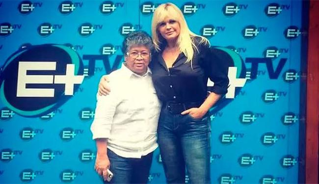 Monique Evans não gostou do programa com Marlene teri ido adiante - Foto: Divulgação