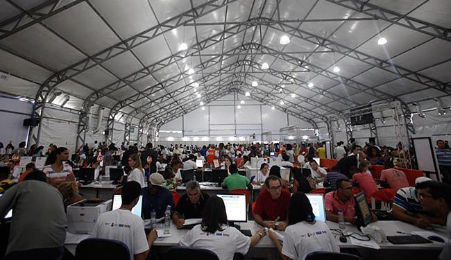 Mais de 18.868 pessoas haviam sido atendidas até o sábado, segundo balanço do TJ-BA - Foto: Raul Spinassé | Ag. A TARDE