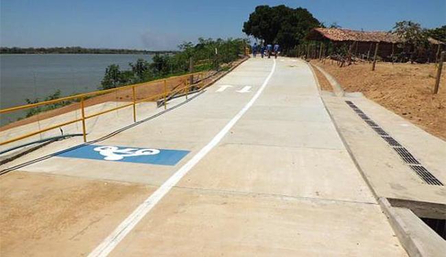Estruturas de acesso são instaladas em toda a área - Foto: Secom l Divulgação