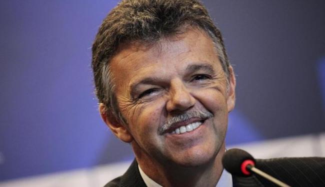 Gilmar Rinaldi, da CBF, vai se reunir na próxima semana com dirigentes do Comitê Olímpico do Brasil - Foto: Ricardo Moraes | Arquivo | Agência Reuters
