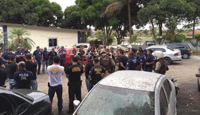 Cerca de 90 policiais participaram da ação - Foto: Divulgação | Polícia Civil