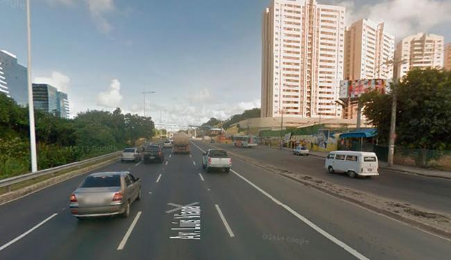 O apagão ocorreu nas proximidades da Unijorge até a entrada da Avenida São Rafael - Foto: Reprodução   Street View
