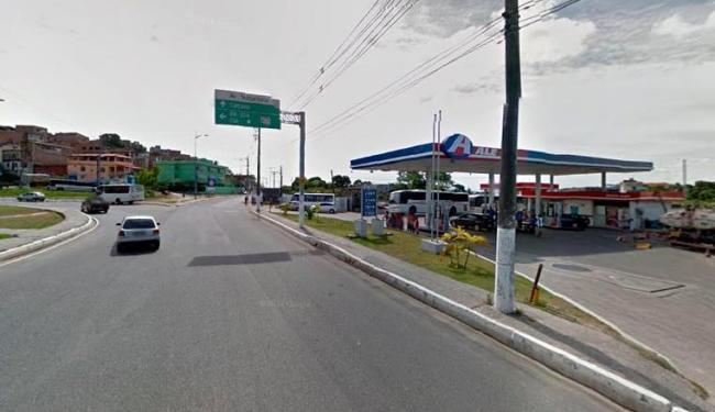 Região onde aconteceu o acidente em Paripe - Foto: Reprodução   Google Street Vieew