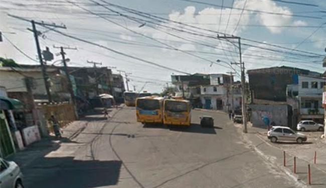 Crime aconteceu na rua 24 de Agosto, no final de linha de Pirajá - Foto: Reprodução   Google Maps