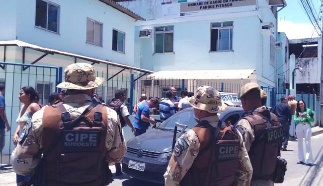 PM foi morta enquanto trabalhava em posto de saúde - Foto: Edílson Lima | Ag. A TARDE