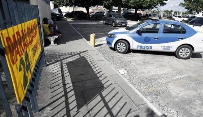 Policias civis na Bahia voltam às atividades normais às 8h deste sábado - Foto: Luiz Tito | Ag. A TARDE