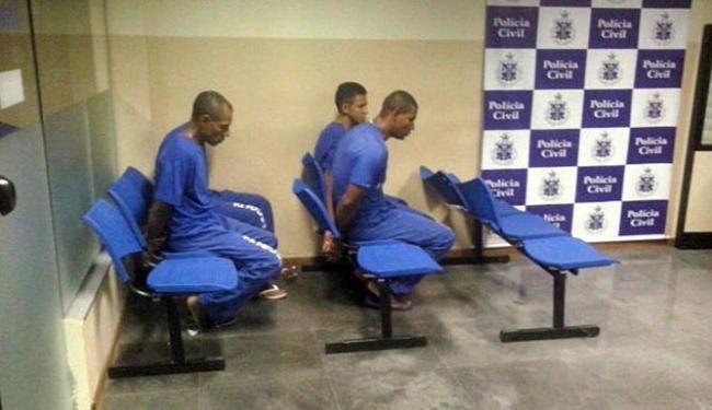 Presidiários foram autuados em flagrante - Foto: Divulgação | Polícia Civil