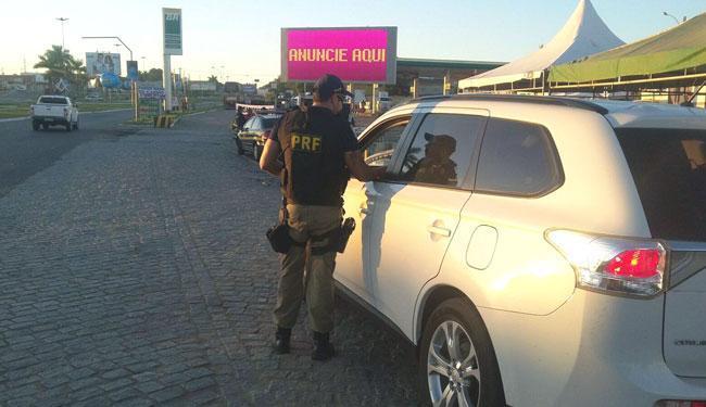 Em números absolutos, houve 9 mortes, que significa aumento de 12,5% - Foto: Divulgação   Polícia Rodoviária Federal