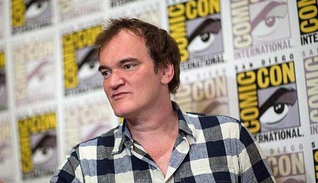 Tarantino veio ao Brasil lançar o filme