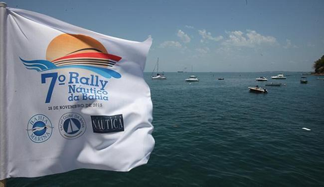 Pier do Yatch Clube é o local da linha de chegada do Rally - Foto: Marco Aurélio Martins l Ag. A TARDE