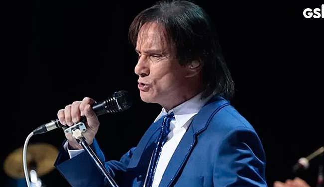O Rei cantou acompanhado por uma banda de músicos de Londres - Foto: Divulgação | GShow