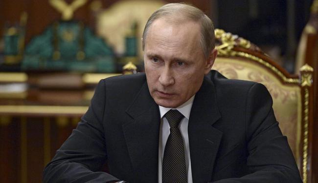 Putin prometeu punir autores do atentado contra avião que levava 224 pessoas a bordo - Foto: Agência Reuters