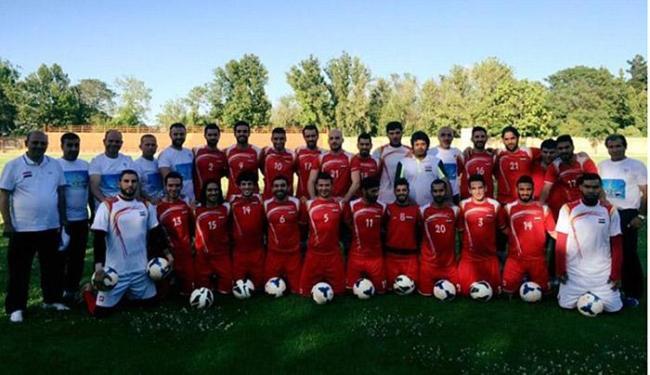 Síria encara Cingapura amanhã por vaga rumo à primeira Copa - Foto: Reprodução do Facebook