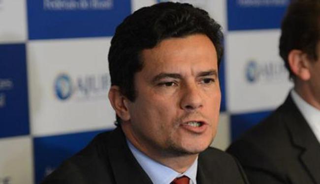 Sérgio Moro ainda faz referência às delações premiadas do lobista Fernando Soares - Foto: Rodrigues Pozzebom l Agência Brasil