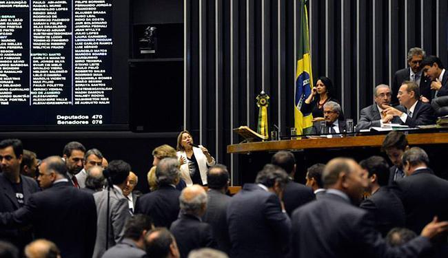 Congresso fez esforço concentrado para apreciar 13 vetos da presidente - Foto: José Cruz l Agência Brasil