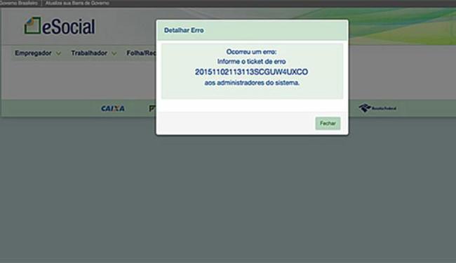 Segundo o Serpro,o sistema está normalizado - Foto: Reprodução