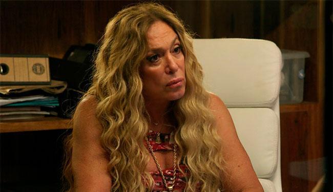 A atriz deixou claro o seu desconforto com os programas - Foto: Reprodução   Globo