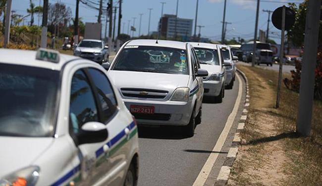 Taxistas querem mais transparência em processo licitatório - Foto: Joá Souza | Ag. A TARDE