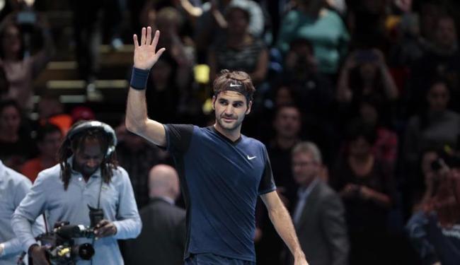 O triunfo do suíço também eliminou o tenista asiático, que havia sido arrasado por Djokovic - Foto: Suzanne Plunkett | Agência Reuters