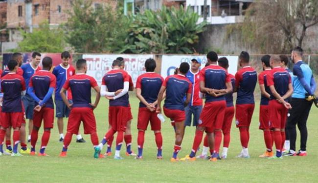 Para subir, time precisa vencer jogos que faltam e torcer por tropeços de ao menos dois rivais - Foto: Felipe Oliveira l E.C. Bahia