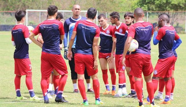 Sem chance de acesso, tricolor pega Timbu para testar atletas menos utilizados e voltar a ter respei - Foto: Felipe Oliveira l E.C. Bahia
