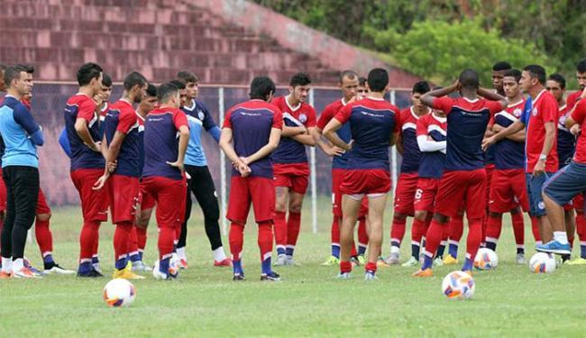 Equipe titular do Tricolor terá seis atletas formados no próprio Fazendão - Foto: Felipe Oliveira l E.C. Bahia