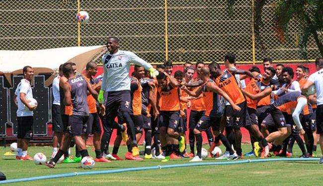 Mancini definirá no treino desta sexta-feira, 27, o time que enfrenta o Santa Cruz - Foto: Luciano da Matta   Ag. A TARDE
