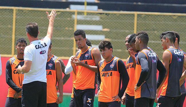 Mancini vai apostar em alguns garotos no duelo com o Santinha - Foto: Luciano da Matta l Ag. A TARDE.