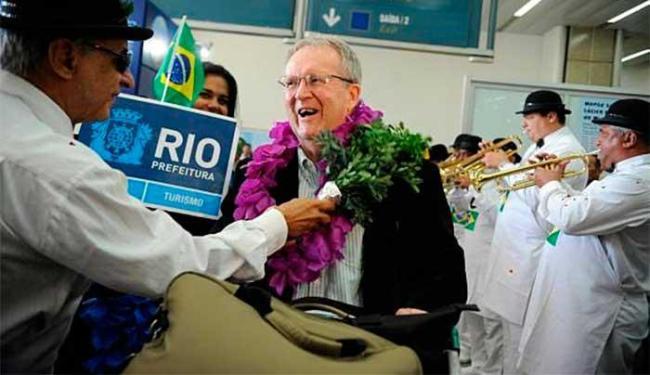 Turistas estrangeiro chegam ao Brasil - Foto: Tânia Regô | Agência Brasil
