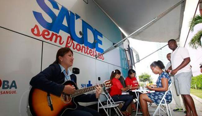 As unidades terão apresentações musicais e programação especial na Semana do Doador - Foto: Camila Souza | GOVBa