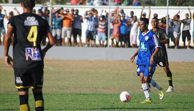 Seleções de Uruçuca e Santo Amaro fizeram um jogo bastante disputado - Foto: Geovan Santos l Ligeirinho no Esporte