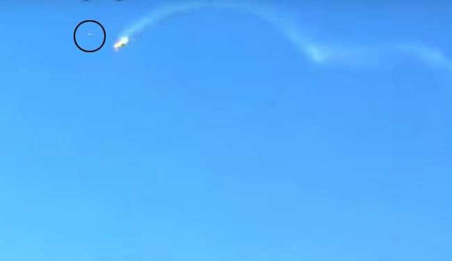 Vídeo foi enviado para o pai do piloto - Foto: Reprodução