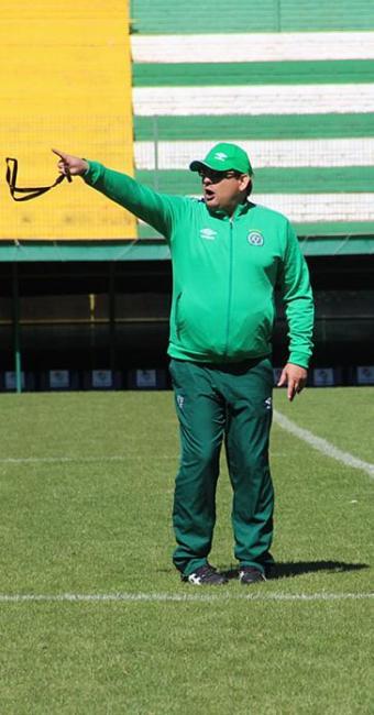 Sob comando de Guto, time catarinense está em 14º na Série A - Foto: Chapecoense l Divulgação