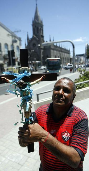 Caminhada de Batista começará em frente à Igreja Senhor dos Passo - Foto: Luiz Tito l Ag. A TARDE