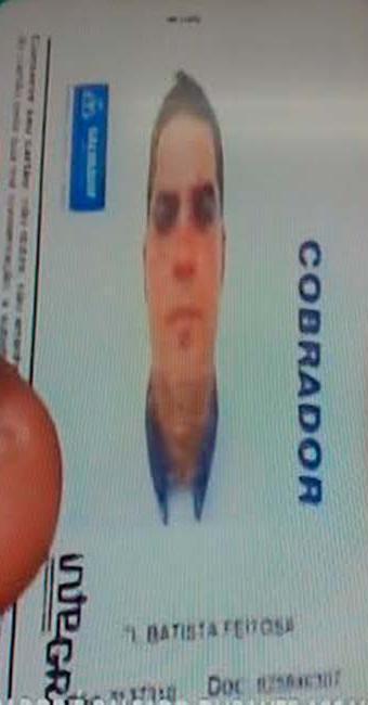 O cobrador Samuel Batista foi baleado nas costas durante assalto a ônibus - Foto: Reprodução | TV Record