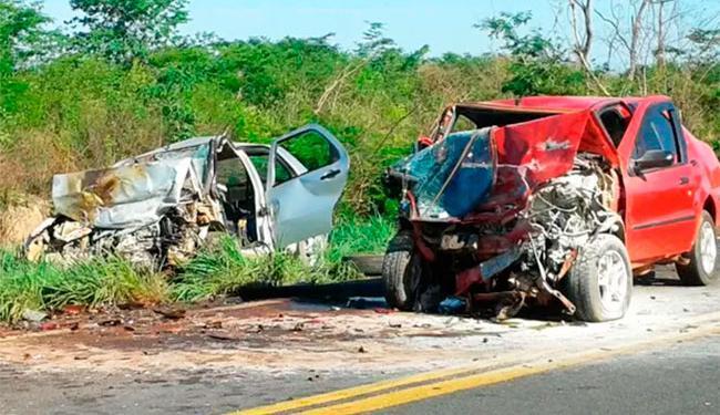 Acidente aconteceu nas imediações do município de Riachão das Neves - Foto: Divulgação | PRF