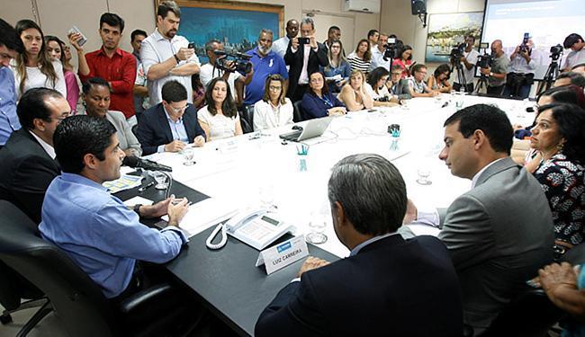 Lançamento foi divulgado, nesta quarta-feira, 2, pelo prefeito ACM Neto, no Palácio Thomé de Souza - Foto: Luciano da Matta l Ag. A TARDE