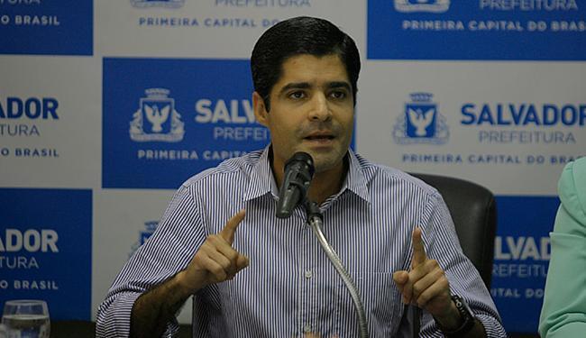 As contas aprovadas do prefeito são relativas ao seu primeiro ano de gestão - Foto: Raul Spinassé   Ag. A TARDE